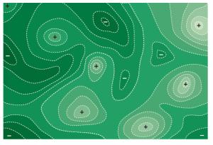 Concept of fitness landscape. From de Visser & Krug,Nature Reviews Genetics 15, 480–490 (2014)